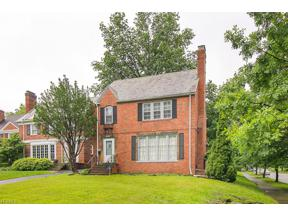 Property for sale at 17408 Lomond Boulevard, Shaker Heights,  Ohio 44120