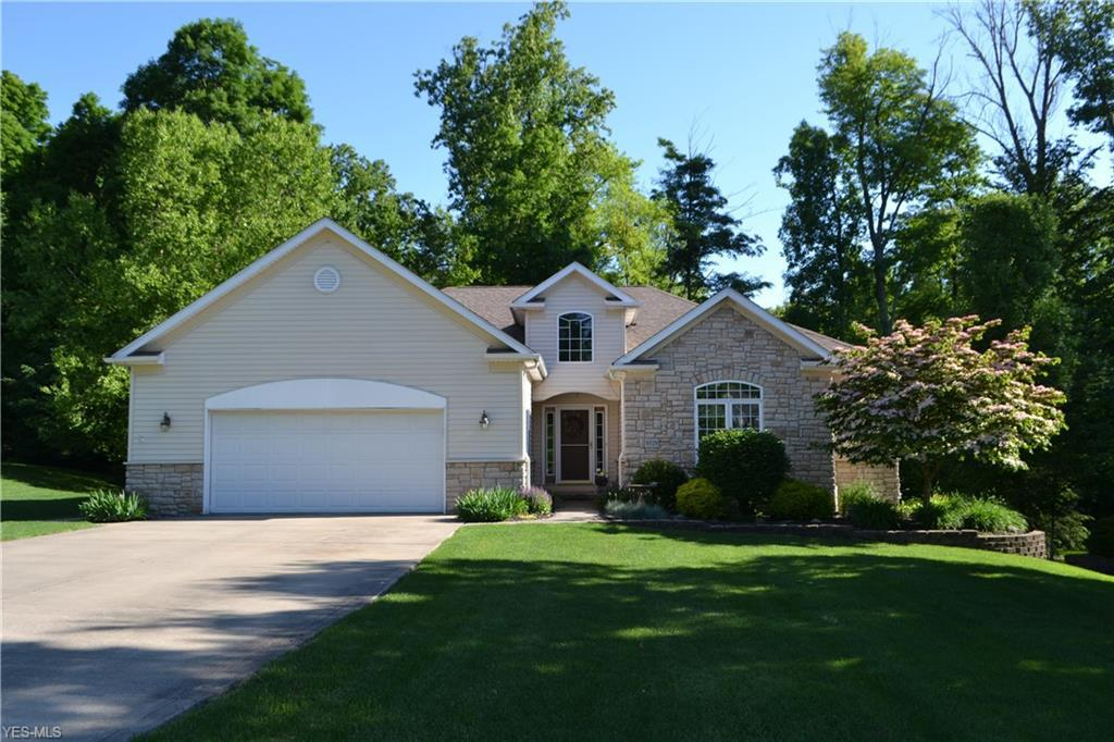 Photo of home for sale at 9529 Andrew Drive, Twinsburg OH