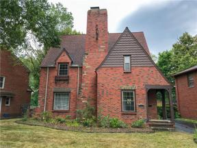 Property for sale at 2440 Edgerton Road, University Heights,  Ohio 44118