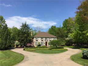 Property for sale at 16 Hunting Hollow Drive, Pepper Pike,  Ohio 44124