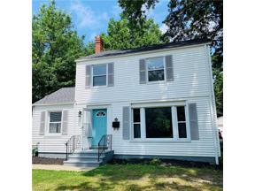 Property for sale at 4237 Bluestone Road, South Euclid,  Ohio 44121