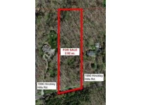 Property for sale at Hinckley Hills Road, Hinckley,  Ohio 44233