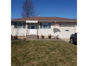 Property for sale at 14060 Zaremba Drive, Brook Park,  Ohio 44142
