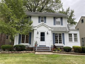 Property for sale at 3578 Tullamore Road, University Heights,  Ohio 44118