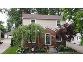 Property for sale at 1706 Wiltshire Road, Akron,  Ohio 44313