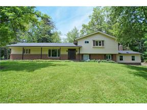 Property for sale at 18438 Thorpe Road, Chagrin Falls,  Ohio 44023