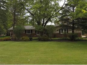 Property for sale at 18 W Bel Meadow Lane, South Russell,  Ohio 44022