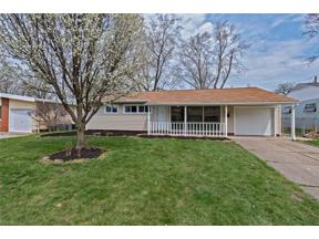 Property for sale at 11616 Appleton Drive, Parma Heights,  Ohio 44130
