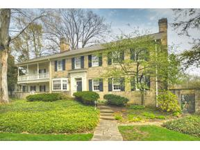 Property for sale at 2723 Cranlyn Road, Shaker Heights,  Ohio 44122