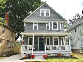 Property for sale at 1491 Spring Garden Avenue, Lakewood,  Ohio 44107