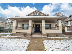Property for sale at 1420 Elbur Avenue, Lakewood,  Ohio 44107