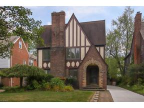 Property for sale at 18428 Winslow Road, Shaker Heights,  Ohio 44122
