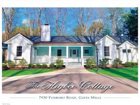 Property for sale at 7430 Foxboro Road, Gates Mills,  Ohio 44040
