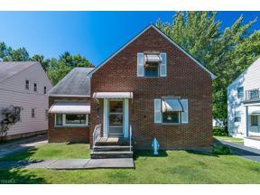 Property for sale at 1344 S Belvoir Boulevard, South Euclid,  Ohio 44121