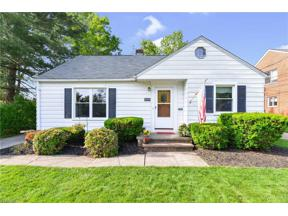 Property for sale at 21484 Eaton Road, Fairview Park,  Ohio 44126