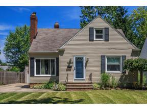 Property for sale at 1683 Lyndhurst Road, Lyndhurst,  Ohio 44124