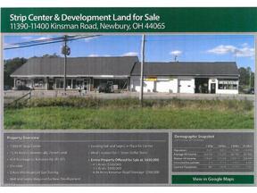 Property for sale at 11390-11400 Kinsman Road, Newbury,  Ohio 44065