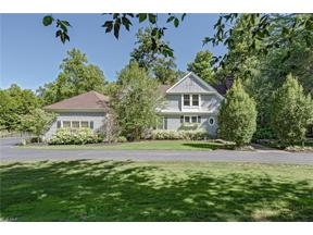 Property for sale at 1857 Woodstock Road, Gates Mills,  Ohio 44040