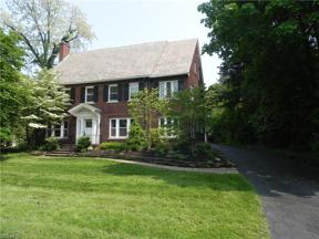 Property for sale at 20011 Malvern Road, Shaker Heights,  Ohio 44122