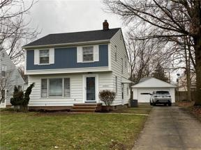 Property for sale at 20863 Northwood Avenue, Fairview Park,  Ohio 44126