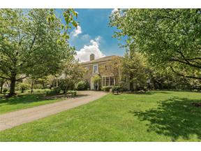 Property for sale at 21926 McCauley Road, Shaker Heights,  Ohio 44122