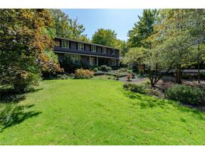 Property for sale at 26 Hunting Hollow Drive, Pepper Pike,  Ohio 44124