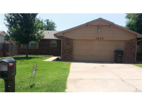 Property for sale at 1012 NW 25Th Street, Moore,  Oklahoma 73160