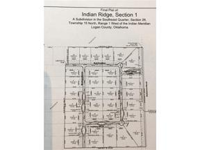 Property for sale at 12890 DEER RUN, Arcadia,  Oklahoma 73007