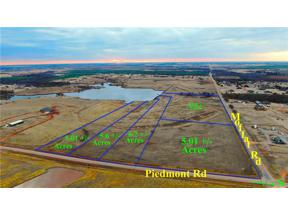 Property for sale at Piedmont Road, Piedmont,  Oklahoma 73078