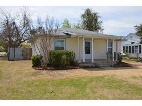 Property for sale at 1101 W Warren Street, El Reno,  Oklahoma 73036