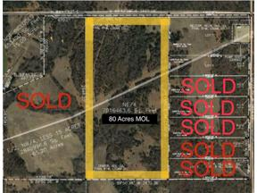 Property for sale at Henney Rd (80 Acres MOL) Road, Guthrie,  Oklahoma 73004