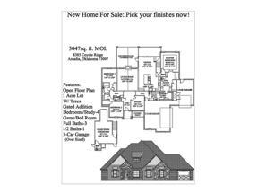 Property for sale at 8385 Coyote Ridge, Arcadia,  Oklahoma 73007