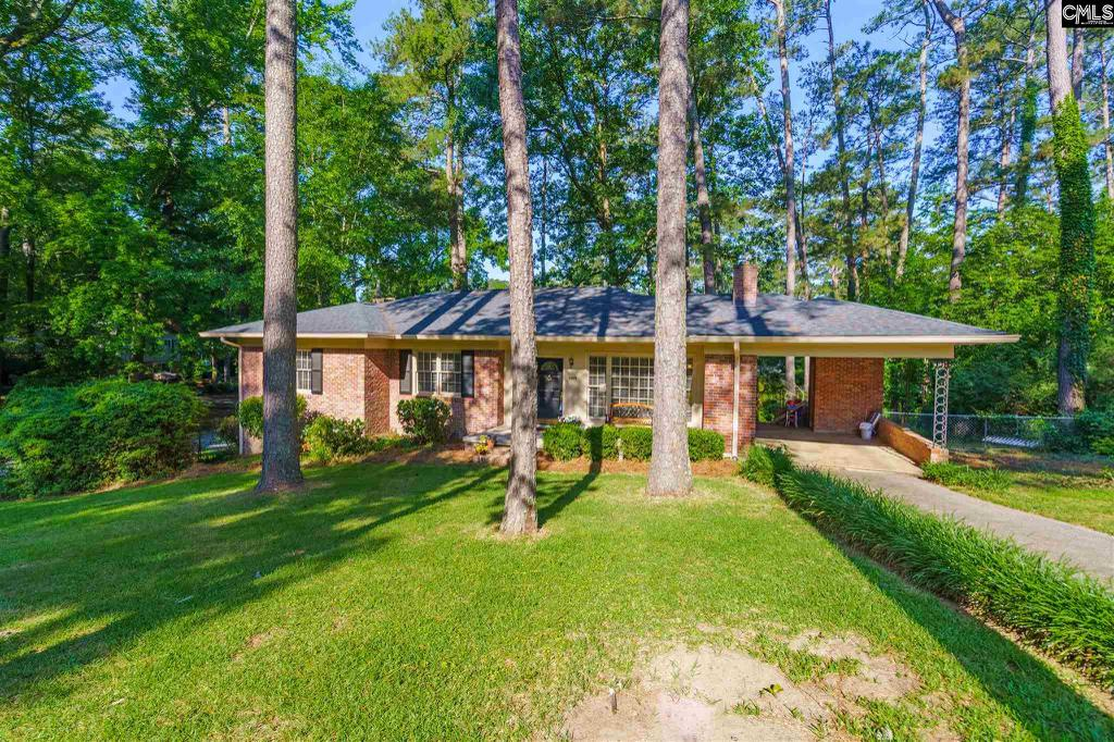 Photo of home for sale at 5857 Woodvine Road, Columbia SC