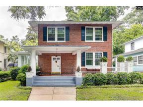 Property for sale at 911 Laurens Street, Columbia,  South Carolina 29201