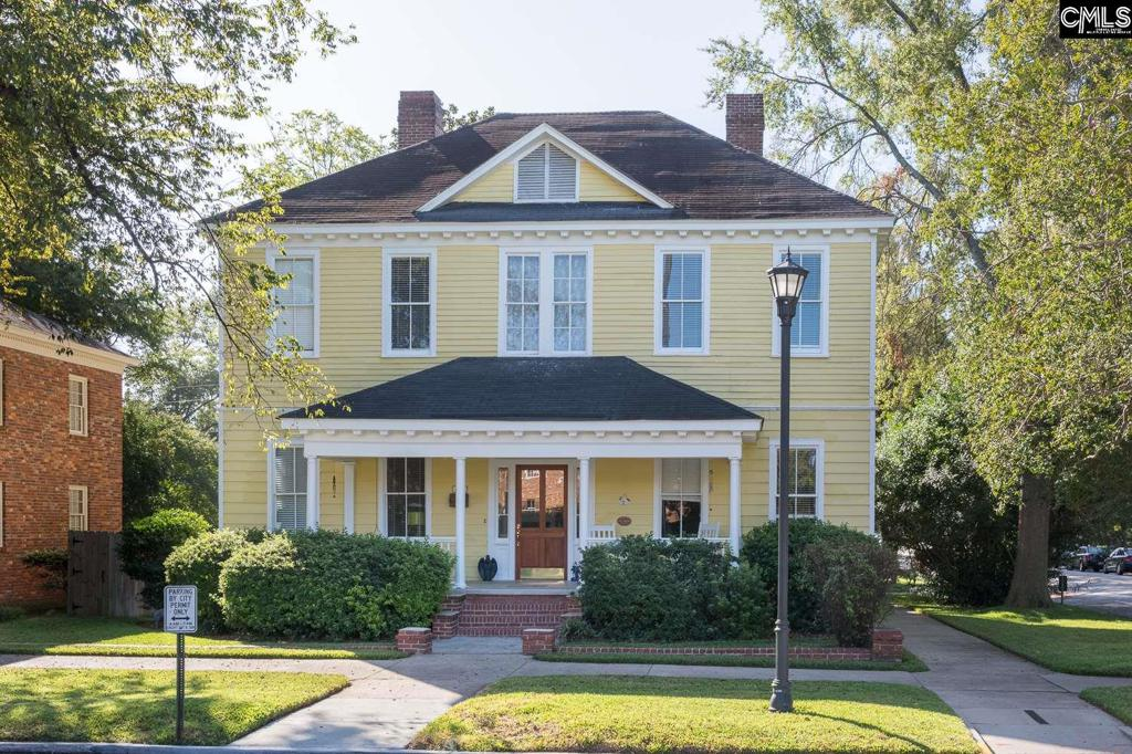 Photo of home for sale at 1700 Senate Street, Columbia SC