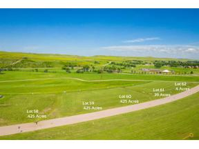 Property for sale at TBD Lot 58 ANNA CT, Rapid City,  South Dakota 57702