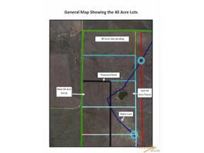Property for sale at tbd ANTELOPE CREEK RD, Caputa,  South Dakota 57703