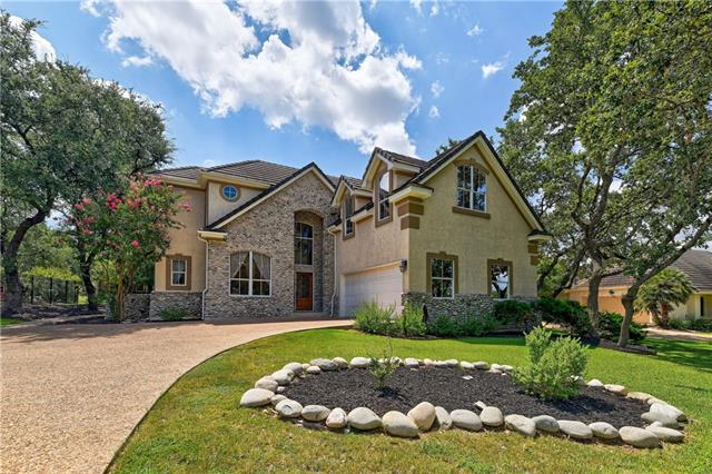 Photo of home for sale at 40 Lost Meadow TRL, The Hills TX