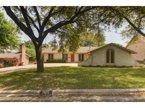 Property for sale at 7603  Glenhill Cv, Austin,  Texas 78752