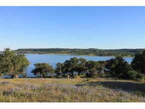 Property for sale at Lot 5B  Sunset Cliff Dr, Burnet,  Texas 78611