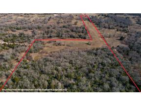 Property for sale at 11191  FM 908 (20 acres), Other,  Texas 76567