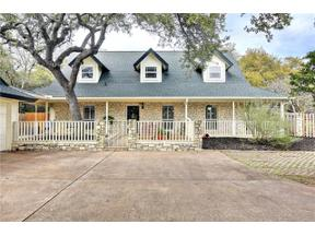 Property for sale at 305  HURST CREEK Rd, Lakeway,  Texas 78734