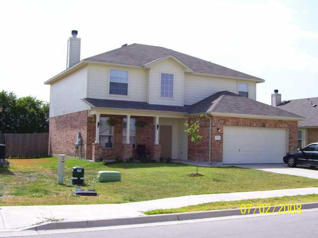 Photo of home for sale at 127 Gainer DR, Hutto TX