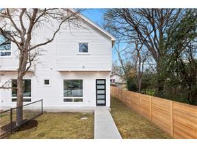 Property for sale at 1404  Meander Dr  #B, Austin,  Texas 78721