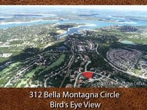 Property for sale at 312  BELLA MONTAGNA Cir, Austin,  Texas 78734