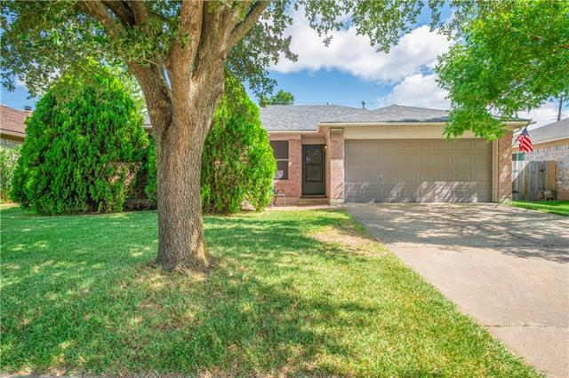 Photo of home for sale at 3704 Walleye WAY, Round Rock TX