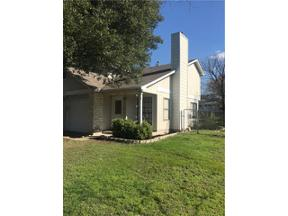 Property for sale at 607  Meadowcreek Cir, Round Rock,  Texas 78664