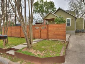 Property for sale at 2300  Garden St, Austin,  Texas 78702