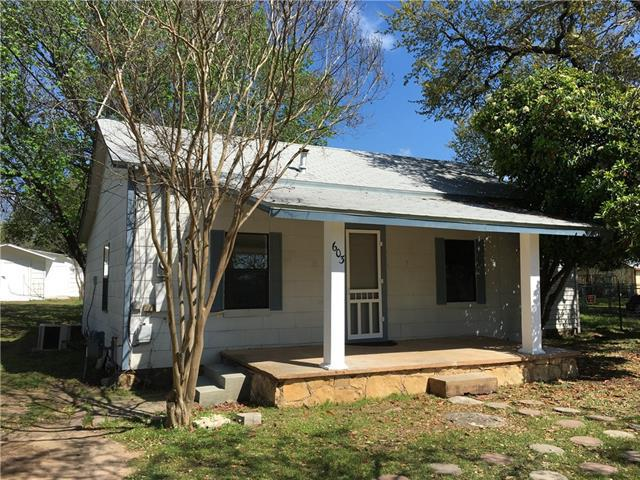 Photo of home for sale at 603 Main ST S, Burnet TX