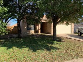 Property for sale at 3313  Settlement Dr, Round Rock,  Texas 78664